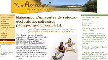 Les Amanins