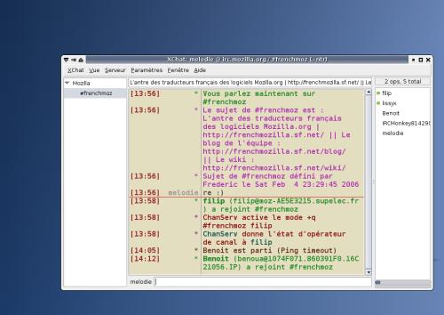 Xchat Client IRC